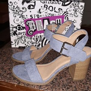 Women's heels, Size 12, New with tags